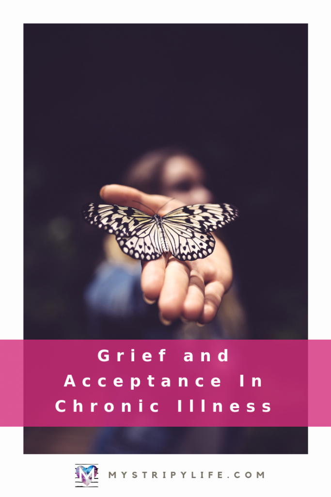 Pinterest image - Grief and Acceptance in Chronic Illness